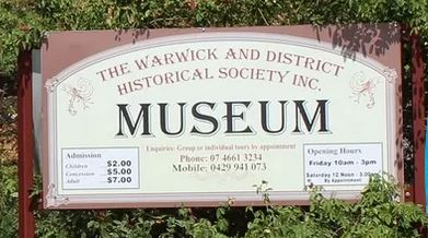Warwick and District Historical Society